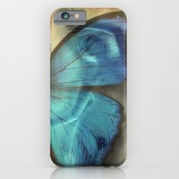 iPhone & iPod Case featuring Lady Butterfly  by KunstFabrik_StaticMovement Manu Jobst
