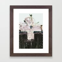vitriol 4 Framed Art Print