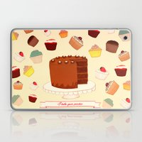 I Bake Your Pardon! Laptop & iPad Skin