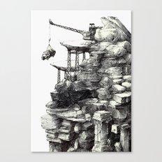 taş,toprak Canvas Print