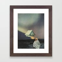 Tent Framed Art Print