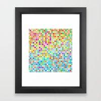 Click #9 Framed Art Print