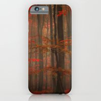 iPhone & iPod Case featuring Enchanting Red by Philippe Sainte-Laudy