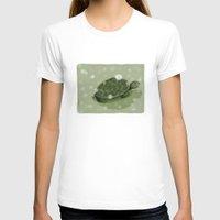 turtle T-shirts featuring Turtle by David Owen Breeding
