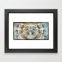 Align^ment°Augenmaß Framed Art Print