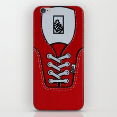 Red Vans shoes iPhone 4 4s 5 5s 5c, ipod, ipad, pillow case and tshirt iPhone & iPod Skin