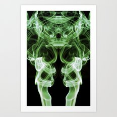 Smoke Photography #21 Art Print