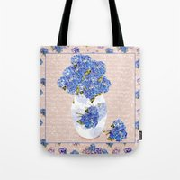 Afternoon Bouquet Tote Bag