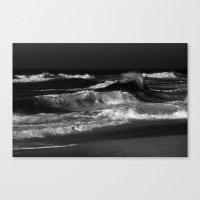 dramatic ocean Canvas Print