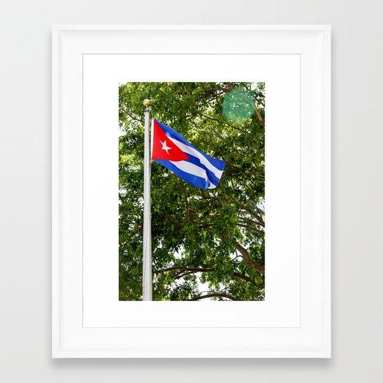 La Bandera Framed Art Print