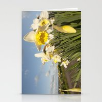 Daffodils on the Moors  Stationery Cards