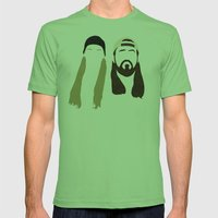 Jay and Silent Bob Strike Back Mens Fitted Tee Grass SMALL