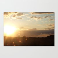 Sunset, 19th August, 201… Canvas Print