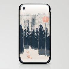 A Fox in the Wild... iPhone & iPod Skin