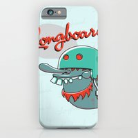 iPhone & iPod Case featuring Longboard by Pahito