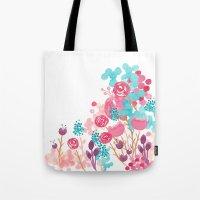 Blush Blossoms Tote Bag