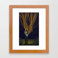 Jaime's Star Framed Art Print