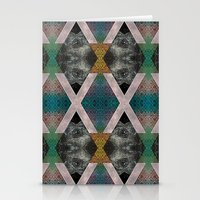 Trippin' on a mountain and falling into space Stationery Cards