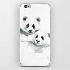 Giant Panda sketch SK064 iPhone & iPod Skin