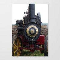 Steam Power 1 - Tractor Canvas Print