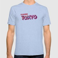 Tokyo Mens Fitted Tee Athletic Blue SMALL