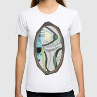 Kosmonaut Womens Fitted Tee Ash Grey SMALL
