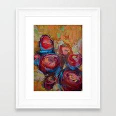 Flower Series  Framed Art Print