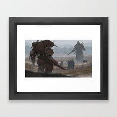 17.IX Framed Art Print