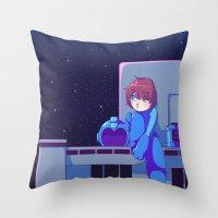 Megaman II  Throw Pillow