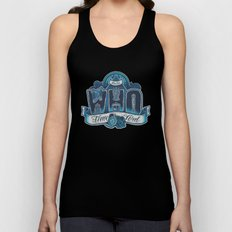 Infinite Who Unisex Tank Top