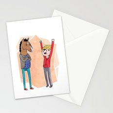 Bojack and Todd Stationery Cards