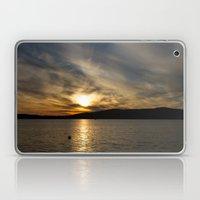 Let's watch the sun go down Laptop & iPad Skin