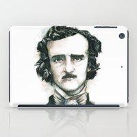 Edgar Allan Poe and Ravens iPad Case