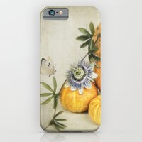 pumpkin & passiflora iPhone 6 Slim Case