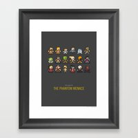 Mega Star Wars: Episode … Framed Art Print