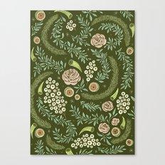 Spring's Dawn Floral Canvas Print