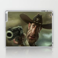 Rick Grimes from 'The Walking Dead'. Laptop & iPad Skin
