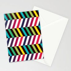 Colorful Zigzag Stationery Cards