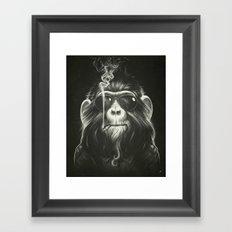 Smoke 'Em If You Got 'Em Framed Art Print
