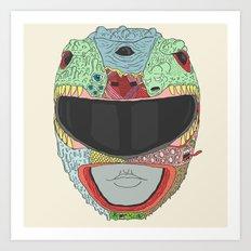 Dead Ranger Art Print