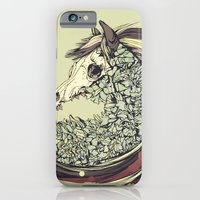 horse iPhone & iPod Cases featuring Beautiful Horse Old by dvdesign