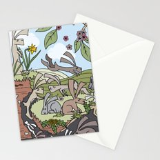 Rabbiting On Stationery Cards