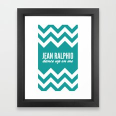 Jean Ralphio - Parks and Recreation Framed Art Print