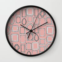 Picture Frames Mimosa Wall Clock