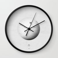 Element: Air Wall Clock