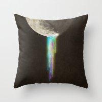 Color Bleed Throw Pillow