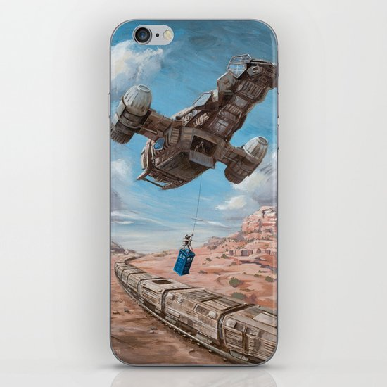 The Time Job - Firefly + Doctor Who  iPhone & iPod Skin
