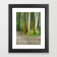 abstract nature dream 2 Framed Art Print
