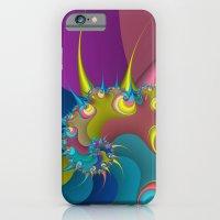 wet paint fractal  iPhone 6 Slim Case