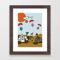 3021 Framed Art Print